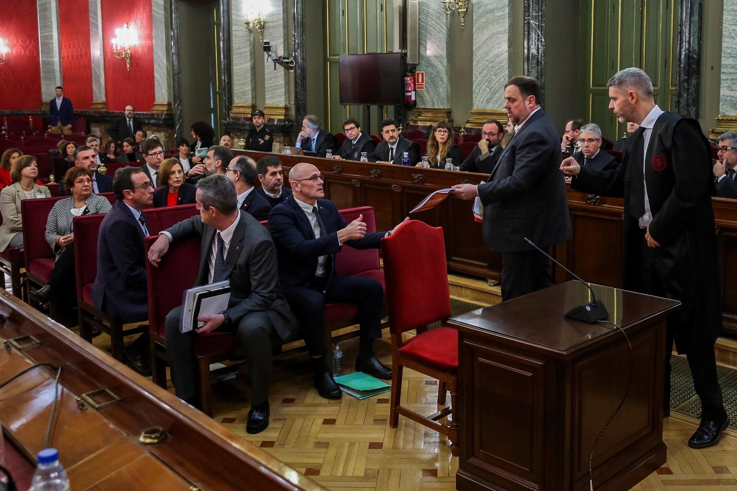 Case against Catalan indy figures based on 'lies', lawyer Andreu Van den Eynde says
