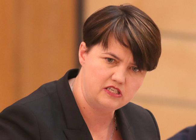 Will Ruth Davidson next say there can only be an indyref2 when everyone in Scotland votes for the SNP?