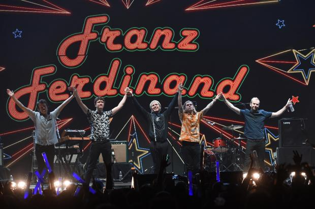 The Loopallu festival was able to attract top acts such as Franz Ferdinand. Photography: Kevin Winter.