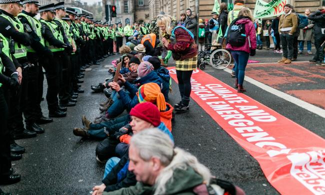 Extinction Rebellion Scotland will hold a five-day camp outside the Scottish Parliament